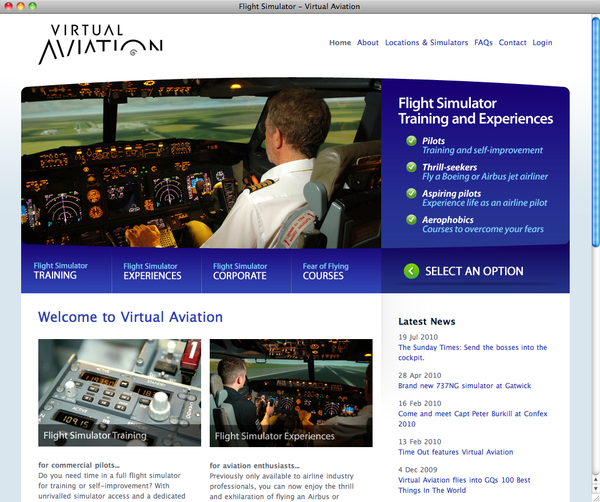 37signals Product Blog: UK-based flight simulation business takes
